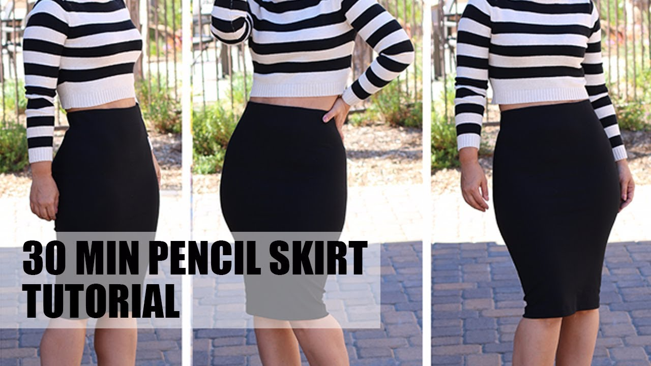 6d476f680c 1 Skirt 3 Looks! DIY Pencil Skirt | Mimi G Style