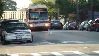 MTA Bus: 2006 Orion VII Q111 Bus #3543 & 1997 OBI Orion V Q113 Bus #166 at Foch Blvd