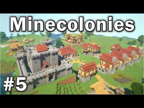 ⚒️ Minecolonies Survival: #5 - Barbarian Attack!