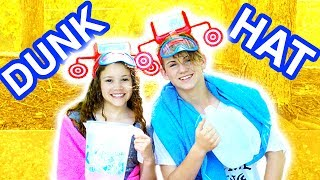 Dunk Hat! Don't Get Wet! (MattyBRaps vs Sierra Haschak)