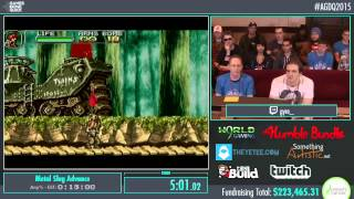 Metal Slug Advance by Gyre in 16:23 - AGDQ2015 - Part 43
