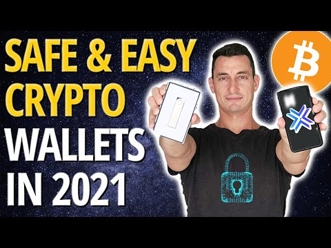 SAFEST & BEST Cryptocurrency Wallets to Store Bitcoin, Ethereum & Altcoins | TOP 5 (2021)
