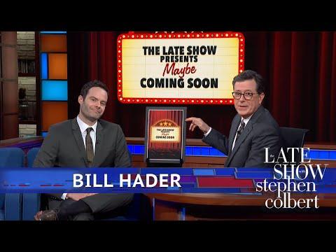See Bill Hader Riff on Joke Films Inspired by Mescaline, Vegan Cops on 'Colbert'