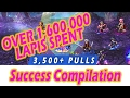 [FFBE] Ziss Success Pulls Compilation #1 - Over 3,500 Pulls & 1.6 Million Lapis Spent