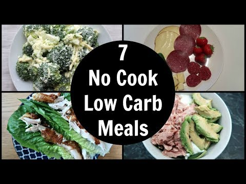 7 Easy No Cook Low Carb Meals | Keto Dinner Ideas