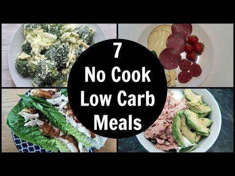 7 Easy No Cook Low Carb Meals | Keto Dinner Ideas