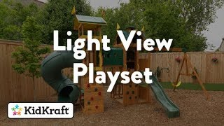 Light View Wooden Playset Toy demo by KidKraft