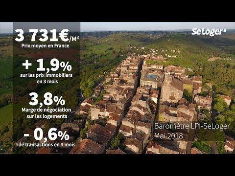 [Baromètre] Les prix immobiliers en France - Mai 2018
