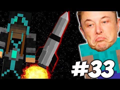 НОВАЯ РАКЕТА + САТУРН \\ Приключения Илона Маска в Minecraft #33