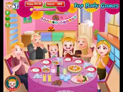 Baby Hazel New Games 2015 Movie Thanks Giving Fun Full Episode Youtube