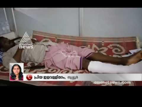 CPM Activist got injured by RSS attack at Thrissur    FIR