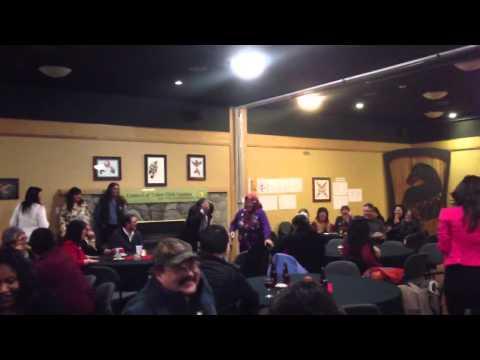 Yukon Premier grouse dance