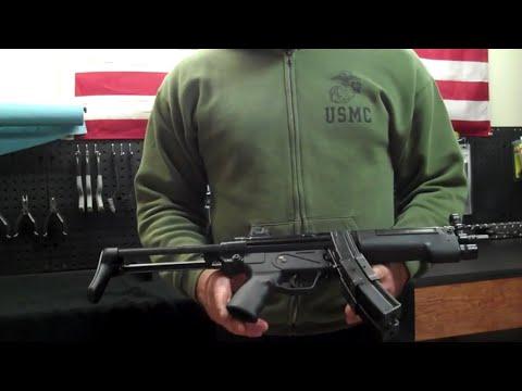 How to Disassemble the Mp5 Machine Gun