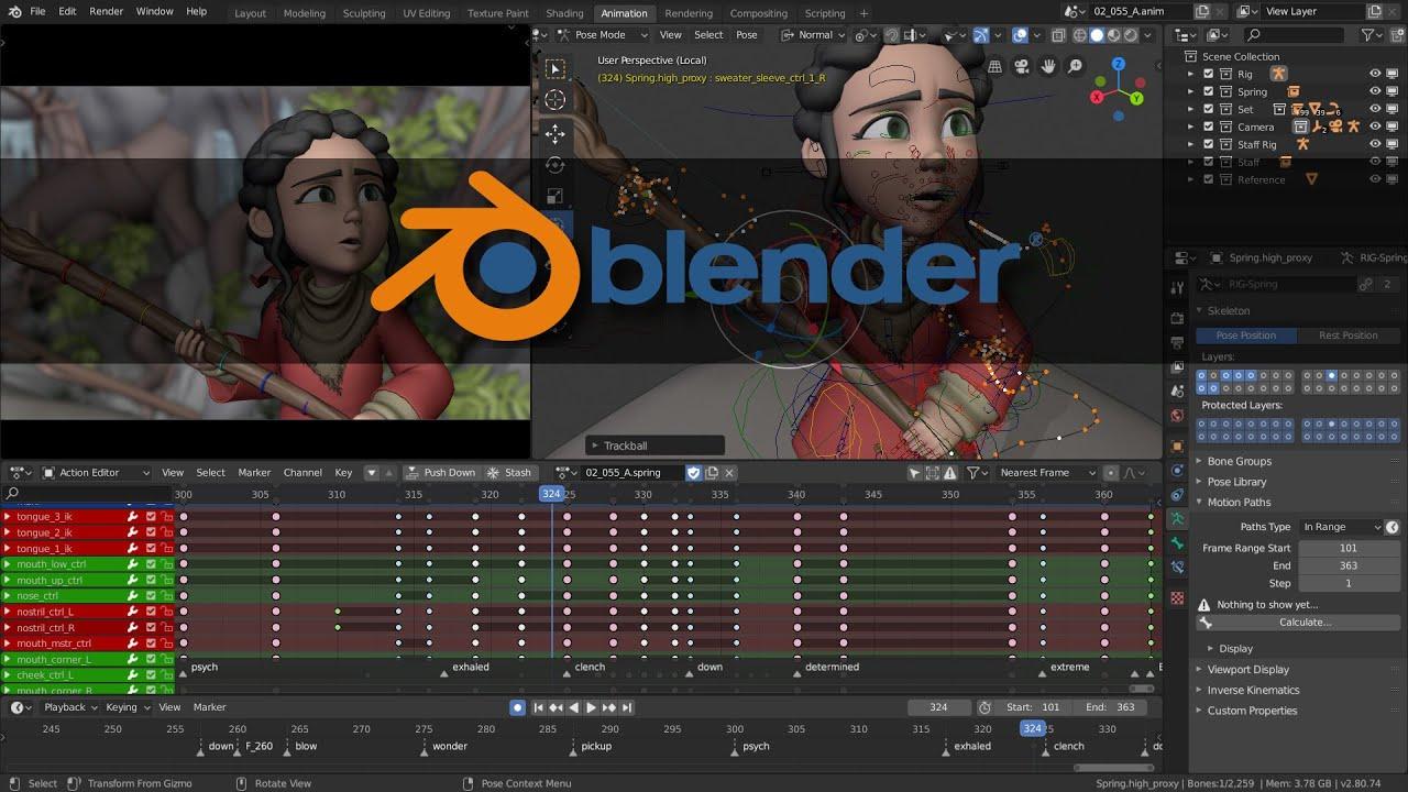 แนะนำ software ฟรี  EP1 : มารู้จักโปรแกรม blender กันเถอะ