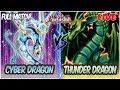 YuGiOh! Live Duel: Cyber Dragon Vs Thunder Dragon [Cyber Dragon Nachster Makes The Deck INSANE!]