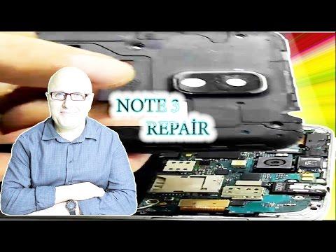 Samsung Galaxy Note 3 Kamera Camı Değişimi Nasıl Yapılır?