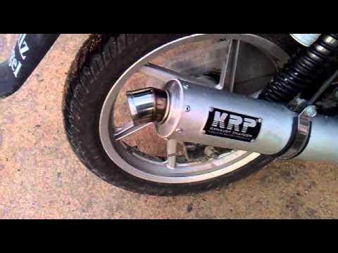 KRP Exhaust on Pulsar 150 Dtsi