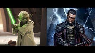 Versus Series Yoda VS Exar Kun