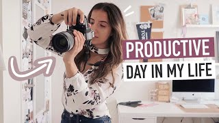 productive day in my life in toronto | working at home & running errands