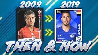 Eden Hazard - ALL FOOTBALL STICKERS 2009-2019