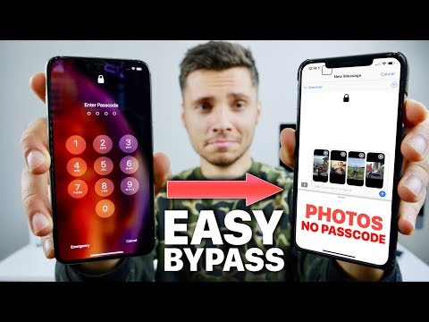 Another BAD iOS 12 Passcode Bypass! 12.1/12.0.1 (Works on XS)