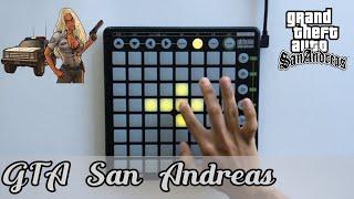 GTA San Andreas theme song Novation Launchpad cover