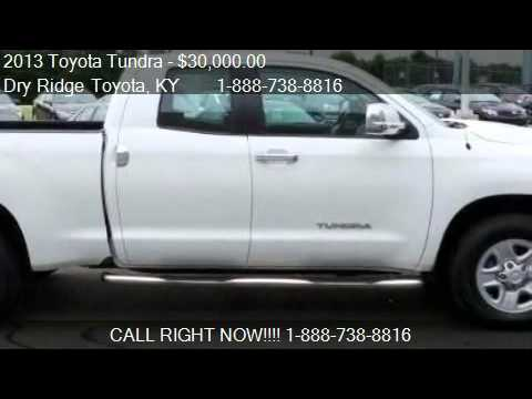 2013 toyota tundra for sale in dry ridge ky 41035 youtube. Black Bedroom Furniture Sets. Home Design Ideas
