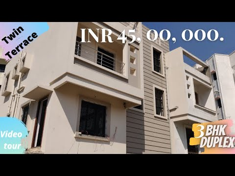 Touring spacious 3BHK Duplex with twin Terrace(VFM)  HINGNA ,NAGPUR  REALTY DIGEST  (PART 1)