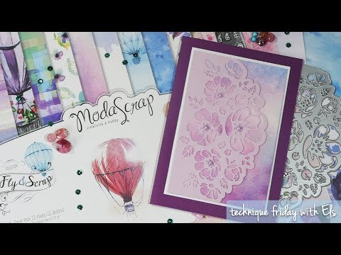Romantic Bouquet Card | Technique Friday with Els