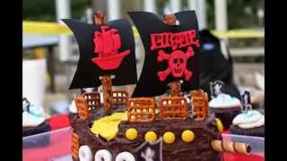 Pirate Birthday Cake By Thefoodventure.com