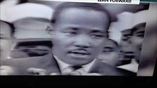 Hologram failure, Martin Luther King Reptilian shapeshifter..Those lying eyes..