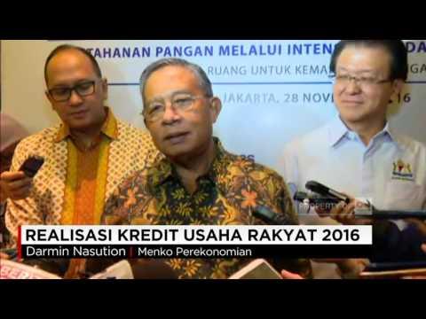 Realisasi Kredit Usaha Rakyat 2016