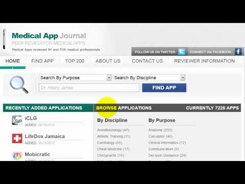 Medical App Journal - Submit Developer News, Videos, and Information