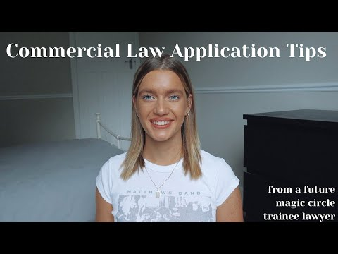 LAW APPLICATION TIPS - vacation schemes, training contracts, internships