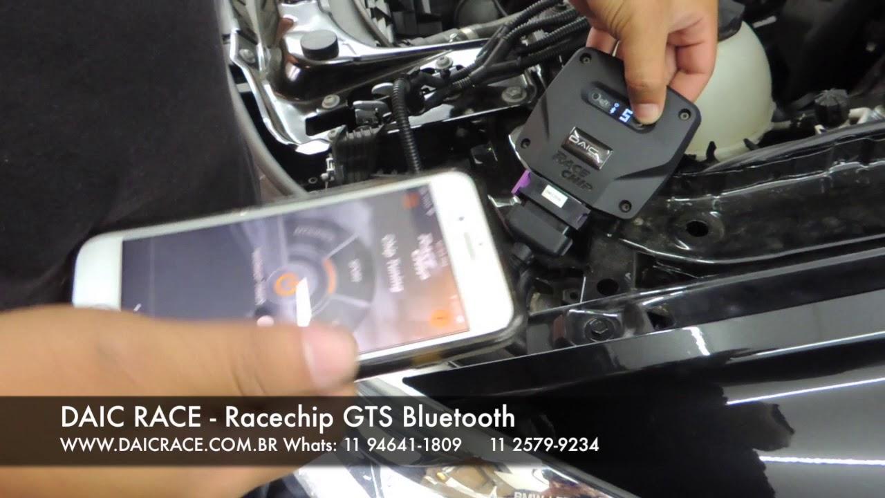 DAIC RACE - BMW recebendo Racechip GTS com Bluetooth via APP (11) 94641-1809