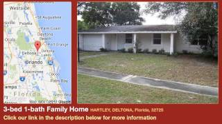 3-bed 1-bath Family Home for Sale in Deltona, Florida on florida-magic.com