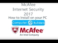 How to Install McAfee Internet Security 2017