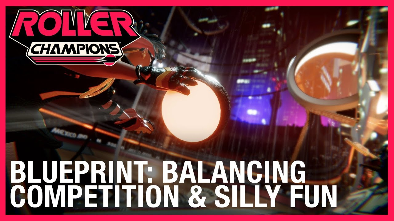 Roller Champions: Blueprint: Balancing Competition & Silly Fun | Ubisoft