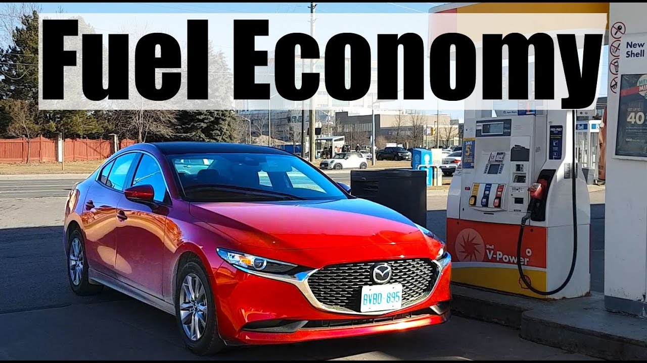 2020 Mazda 3 Fuel Economy Mpg Review Fill Up Costs Youtube