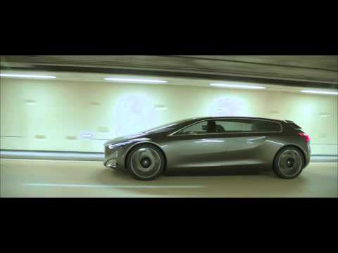 Peugeot HX1 Concept MPV revealed - raw driving scenes (no audio)