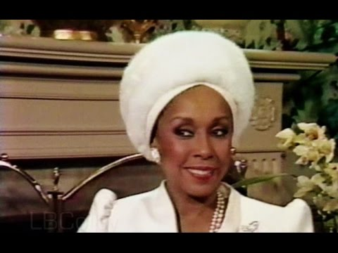 Diahann Carroll Interview [1984] First Day on Dynasty Set