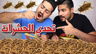 تحدي الحشرات .. أكلنا صراصير وديدان Insects Challenge