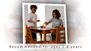 Kids Tables And Chairs For Sale - Lipper Childrens Rectangular Table And Chair Set