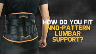 Ugoku INNO-PATTERN LUMBAR SUPPORT - Sport Support