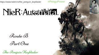 Nier Automata: Part One (Route B) [Endings Achieved: A,G,K,T]