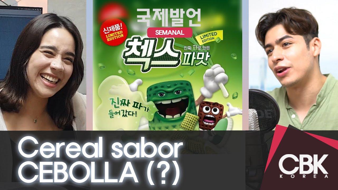 Cereal SABOR CEBOLLA causa escándalo en Corea del Sur [Novedad Semanal]