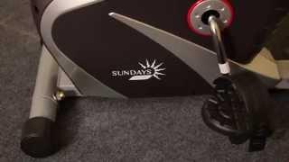 Велотренажер Sundays Fitness K8309-6 видео(Велотренажер Sundays Fitness K8309-6 - компактная, бесшумная, надежная и простая в эксплуатации модель с магнитной..., 2015-08-06T10:20:24.000Z)