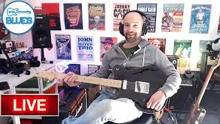 INTHEBLUES Live Stream - Little Crow Guitars, Amps, and More...