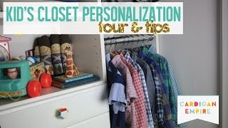 Closet Makeover Tour: Decorate your Kid's Closet Thumbnail