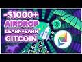 Get $1000+ for FREE - Gitcoin GTC token SMART crypto airdrop!